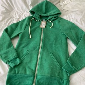 Alternative Apparel Zip Up Hoodie